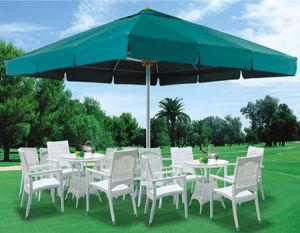 Outdoor Garden Patio Automatic Center Pole Umbrella for Hotel Restaurant pictures & photos