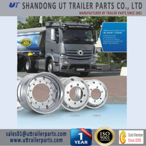 19.5X6.75 Forged Truck and Trailer Aluminum Alloy Wheel Rim pictures & photos