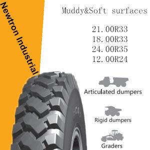 21.00r33 Wholesale Boto Dumper Earthmover Tyre, OTR Tyre