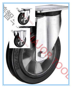 Industrial Black Rubber Caster Wheel/Universal Casters/Caster Wheel for Furniture pictures & photos