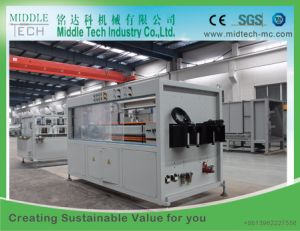(China wholesale price) PVC/UPVC Dual Sewage/Pressure Water Pipe Extrusion Production Line pictures & photos