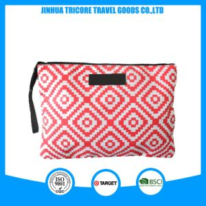High Quality Fashion Travel Cosmetic Bag with Zipper pictures & photos