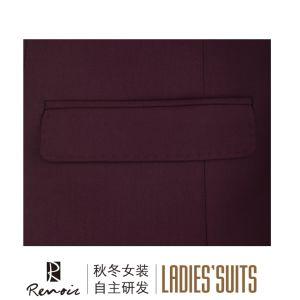 OEM 2 Piece Peak Lapel Business Suit pictures & photos