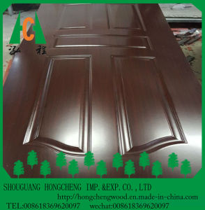 Top Level Environmental Melamine Faced Wood Door Skin pictures & photos