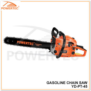 Powertec 16-Inch 45cc 2-Cycle Gas Powered Easy Start Chain Saw (YD-PT-45) pictures & photos