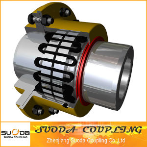 T50 Type Part Reliable Operation Spring Flexible Parts Grid Coupling pictures & photos