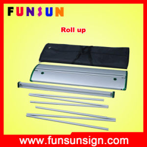Electric Luxury Roll up Stand Display for Banner pictures & photos