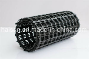Biaxial Plastic Geogrid Used to Reinforce Dyke and Protect The Side Slope pictures & photos