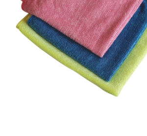 High Quality Cleaning Cloth Shining Microfiber Cloth for Multipurpose (4007) pictures & photos