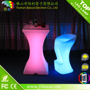 RGB LED Table for Bar/ PE Material LED Bar Table pictures & photos