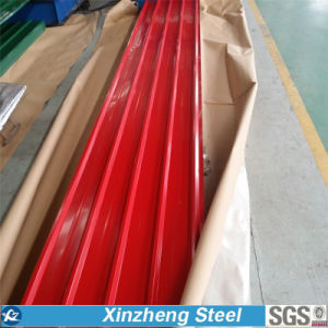 Galvanized/Galvalume Corrugated Sheet, Prepainted Corrugated Steel Roofing Sheet pictures & photos