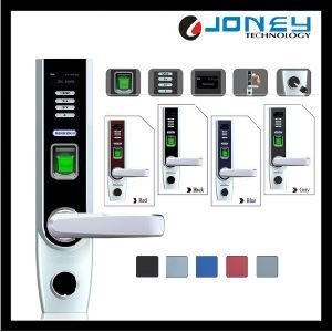Zinc Alloy Reversible Way Fingerprint Scanner Biometric Degital Locks pictures & photos
