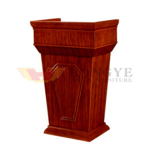 General Modern Lecture Table Solid Wood Office Furniture (HY-005) pictures & photos