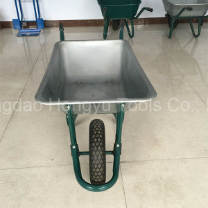 New Zinc Coated Metal Tray Wheel Barrow pictures & photos