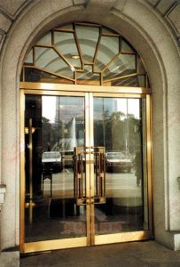 Deluxe Grand Commercial Stainless Steel Entry Door (BHS-DCA03) pictures & photos