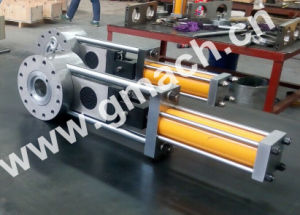 PVC Foaming Products Extrusion Line Used Plate Type Hydraulic Screen Changer pictures & photos
