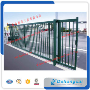 New Style Sliding Wrought Iron Gate pictures & photos