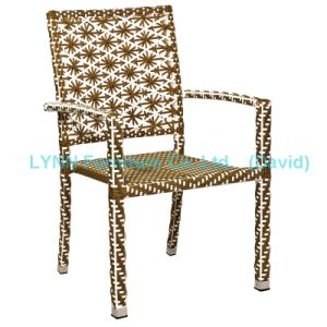 Patio Furniture Poly Rattan Chair Stacking Chair pictures & photos
