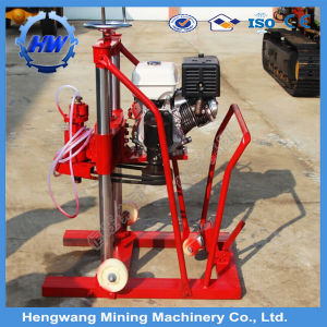 High Quality Gasoline Core Drill Machine Hengwang Supply pictures & photos