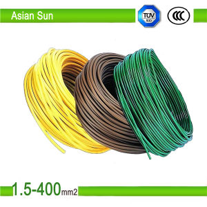 Factory Price Copper BV Stranded Solid PVC Electric Wire Cable pictures & photos