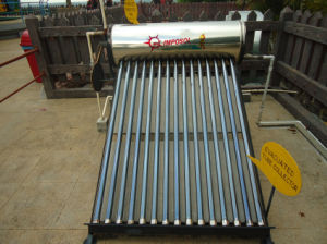 300L Stainless Steel Solar Energy Water Heater with Solar Keymark pictures & photos