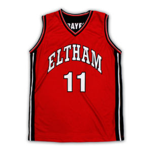 2015 New Red Basketball Uniform pictures & photos