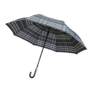 Good Quality 27inch Auto Golf Umbrella (GU015) pictures & photos