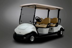 CE Approved 4 Seater Pure Electric Golf Cart for Sale pictures & photos