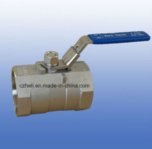 Stainless Steel 1PC Ball Valves 1000wog pictures & photos