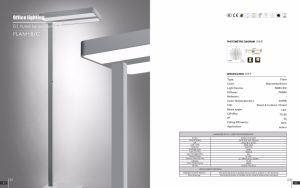 Uispair Modern Office 10W 32V Steel Base LED Lamp Floor Lamp pictures & photos