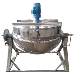 Stainless Steel 150L Tilting Cooking Kettle pictures & photos