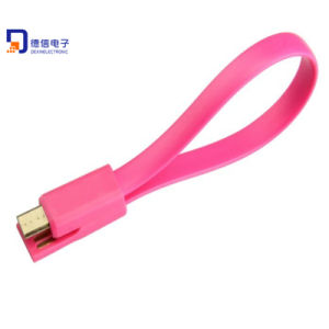 High Quality 20cm Double Side Magnetic USB Cable for Samsung pictures & photos