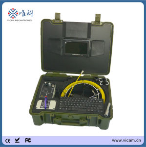 Factory Sale Portable Pipe/Sewer/Underground Borehole Camera Keyboard Inspection System pictures & photos