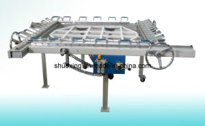 Durable Mechanical Screen Printing Mesh Stretching Machine (ST-1618M) , Mesh Stretcher pictures & photos
