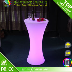 LED Cocktail Bar Table (BCR-872T)