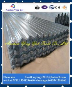 Zinc Corrugated Galvanized Hot DIP Gi Roofing Steel Sheet Plate and Gi Colorful Checkered Plate for Roofing From Elena pictures & photos