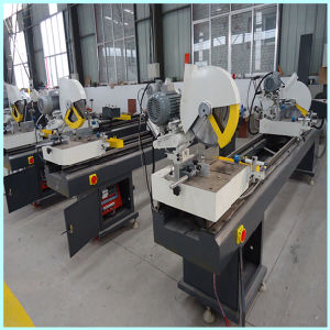 PVC Window Profile Cutting Machine pictures & photos