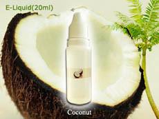 E-Cigarette Coconut Flavour E Liquid