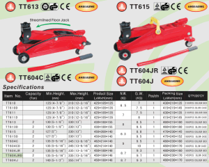 3t Low Profile Hydraulic Floor Jack with Double Pump pictures & photos