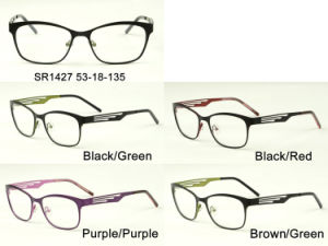 Fashion Wholesale Stock Metal Eyewear Eyeglass Optical Glasses Frame Sr1427 pictures & photos