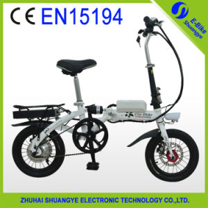Cheap Price Folding Lithium Battery Powered Electric Bike pictures & photos