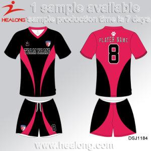 Healong Cheap Price Sublimation College League Soccer Jersey pictures & photos