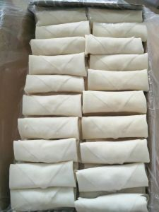 Cylindrical Elngated Frozen Vegetable 40g/Piece Egg Rolls with HACCP Certification pictures & photos