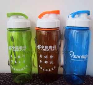 Logo Printed Cheap Promotional Gift PC Space Bottle pictures & photos