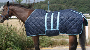 420d Poly, Quilted Design 5cm*5cm Stable Rug, Horse Rug (RG-03) pictures & photos