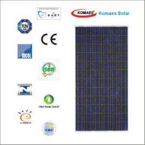 250W Solar System PV Panel Solar Panel with TUV IEC Mcs Inmetro (EU Antidumping Duty-Free) pictures & photos