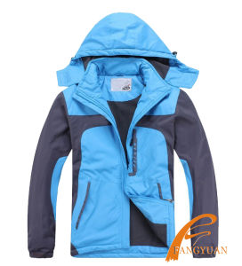 2014 New Style Windproof Jacket, Softshell Sport Wear, Ski Jacket, Men Jacket/Coat, Work Clothes, Breathable Jacket