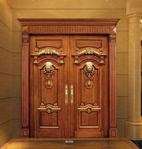 Luxury Interior Wooden Craft Doors pictures & photos