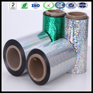 BOPP Silver Metallized Film 25mic Thermal Laminated Film pictures & photos