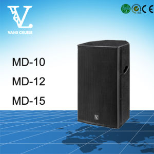 MD-10 2-Way 10′′ Woofer Small Full Range Professional Speaker pictures & photos